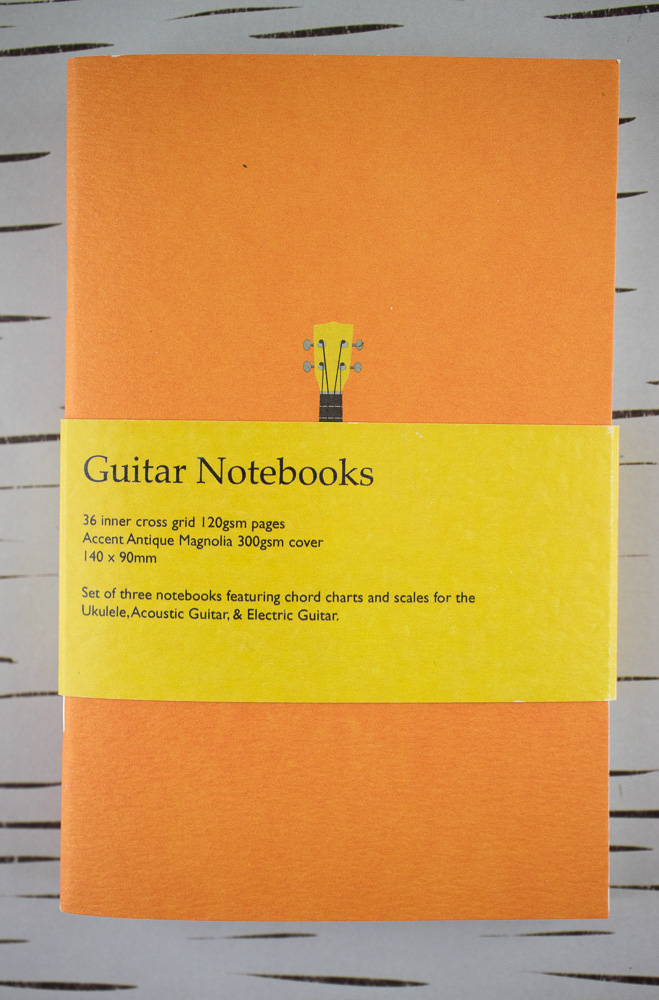 Notebook Review: Back Pocket Notebooks Guitar Notebooks