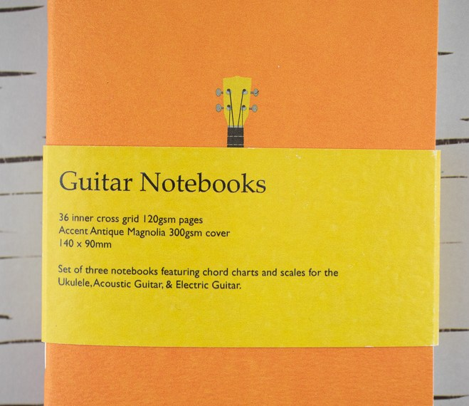 Notebook Review: Back Pocket Notebooks Guitar Notebooks