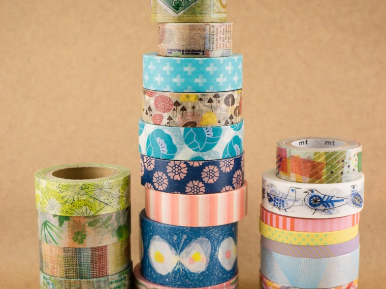 Washi Tape Stash Enhancement