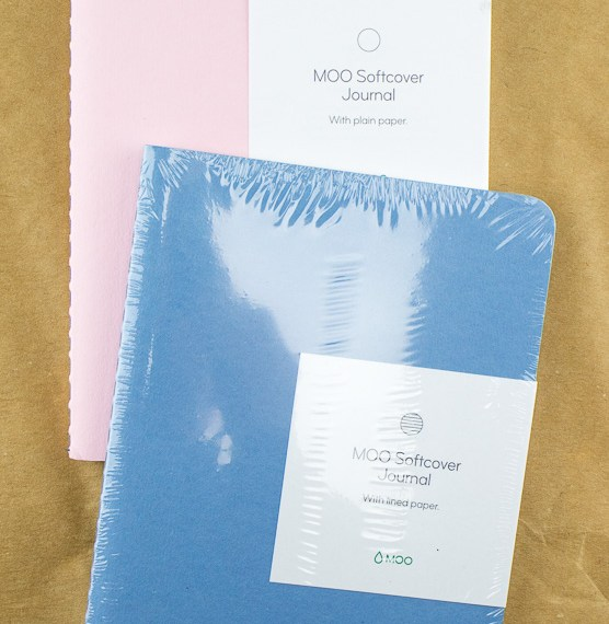 Tag Team Review: Moo Softcover Journal
