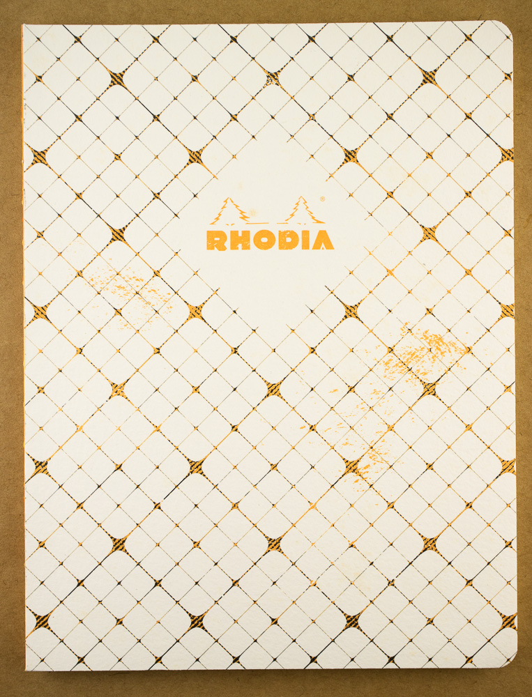 Notebook Review: Rhodia Heritage Checkered Book Block
