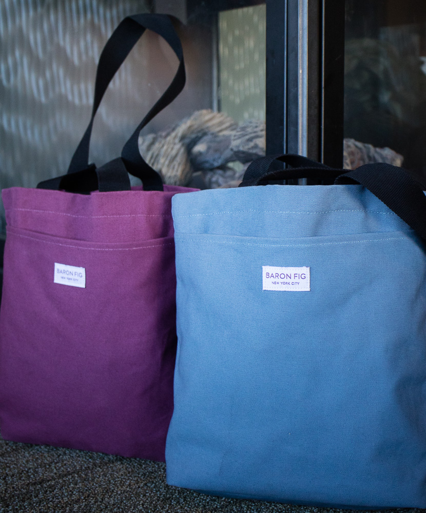 3-Point Perspective Review: Baron Fig Tote Bag