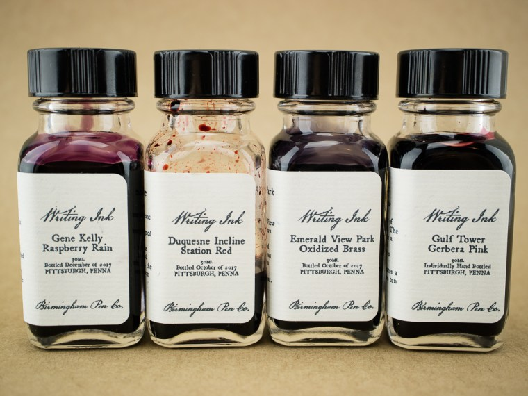 First Look: Birmingham Pen Co. Inks
