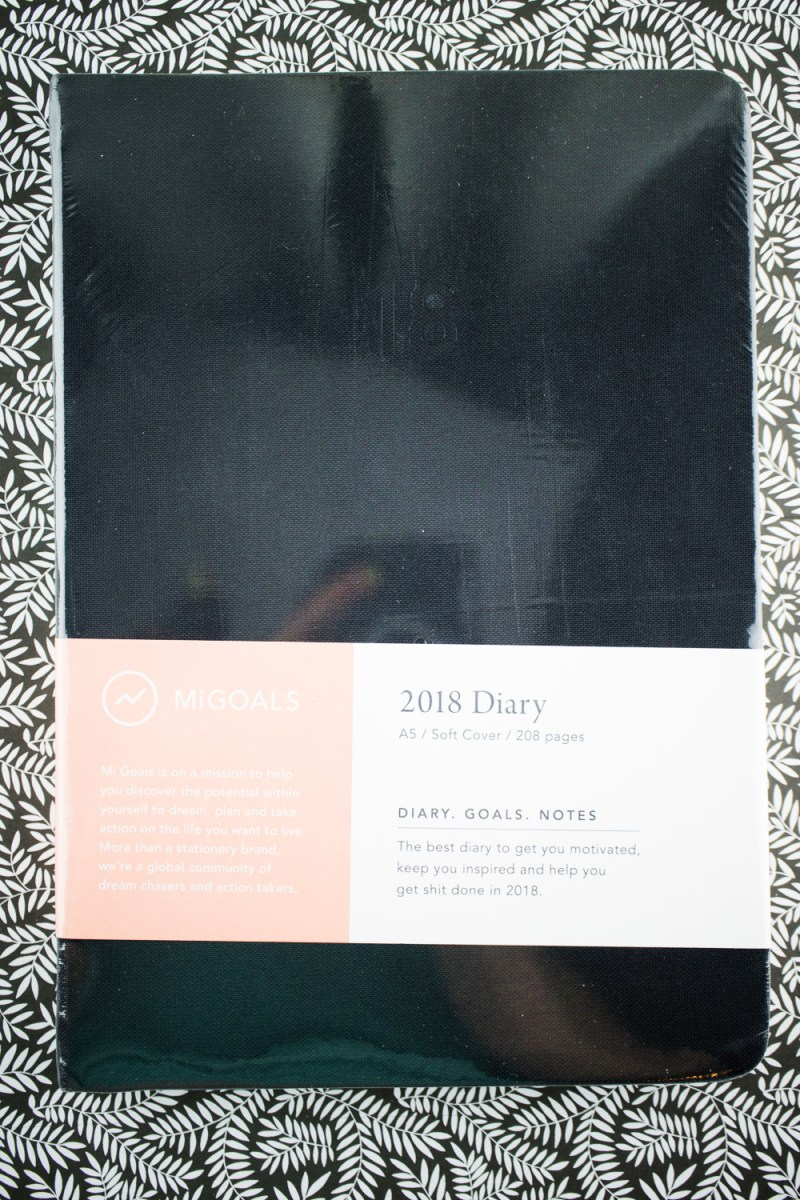 Giveaway: MiGoals 2018 Diary