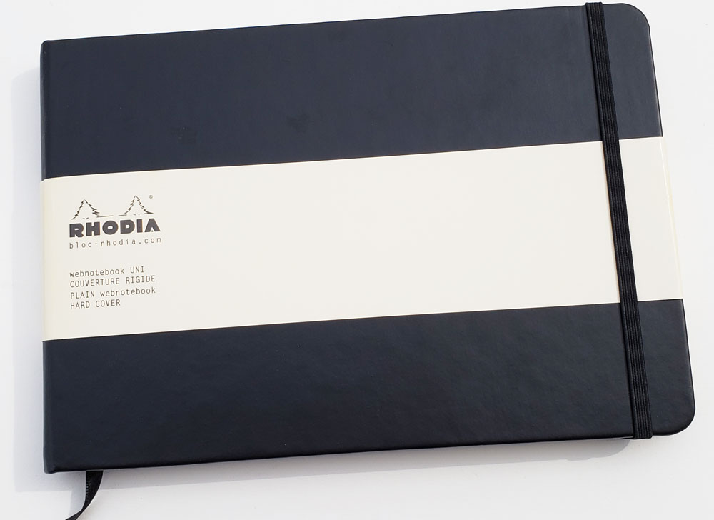 Sketchbook Review: Rhodia Landscape Webnotebook