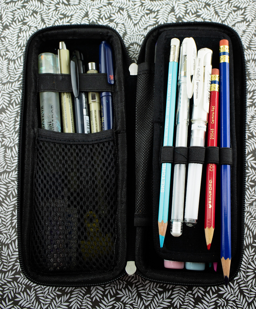 Hermit Shell Pen Case