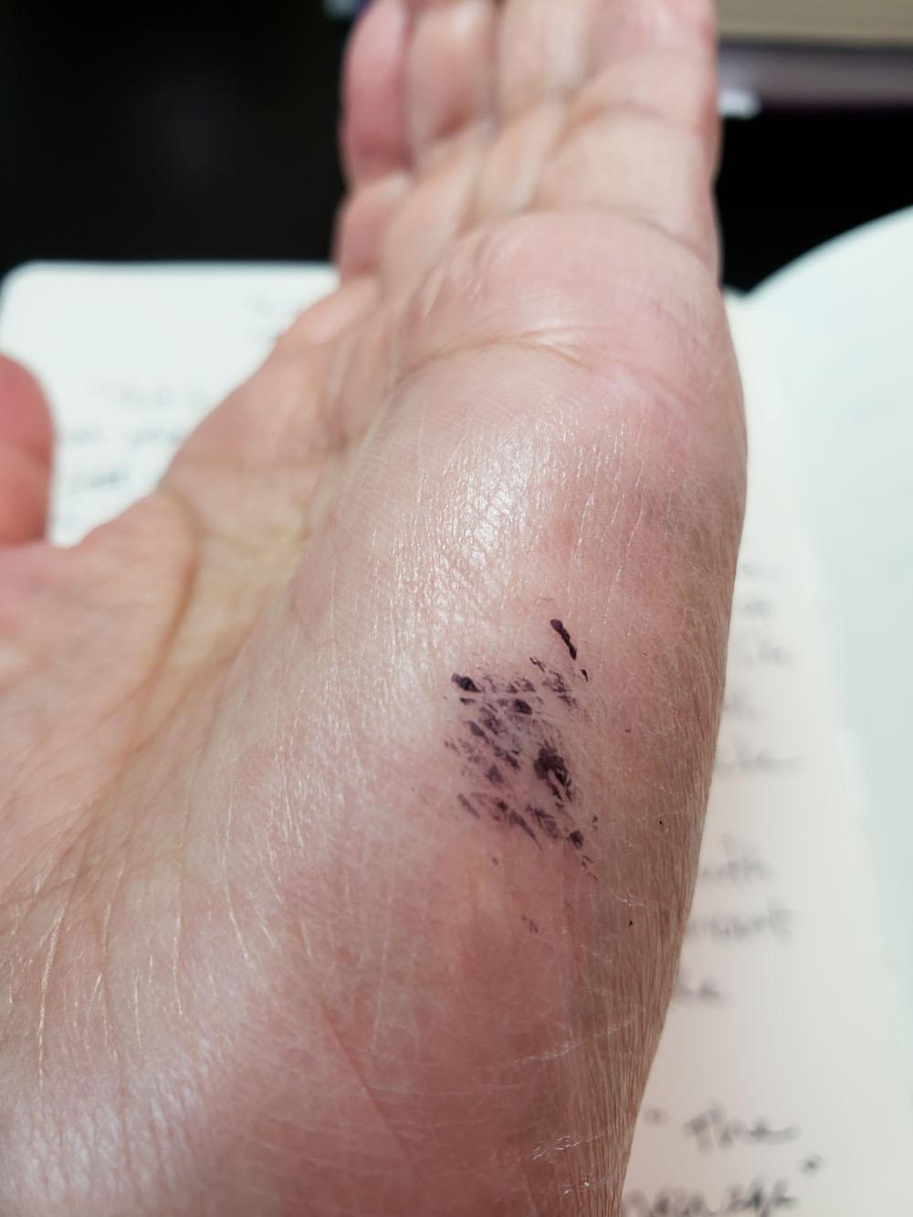 4 - Sarasa hand