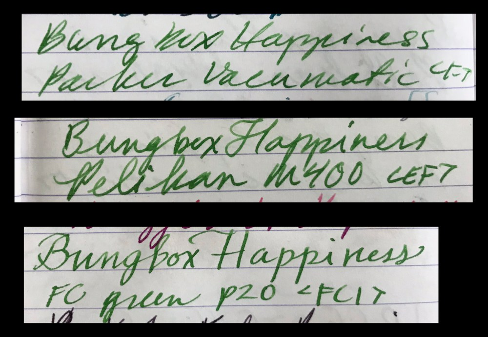 Bungbox Happiness on Clairfontaine
