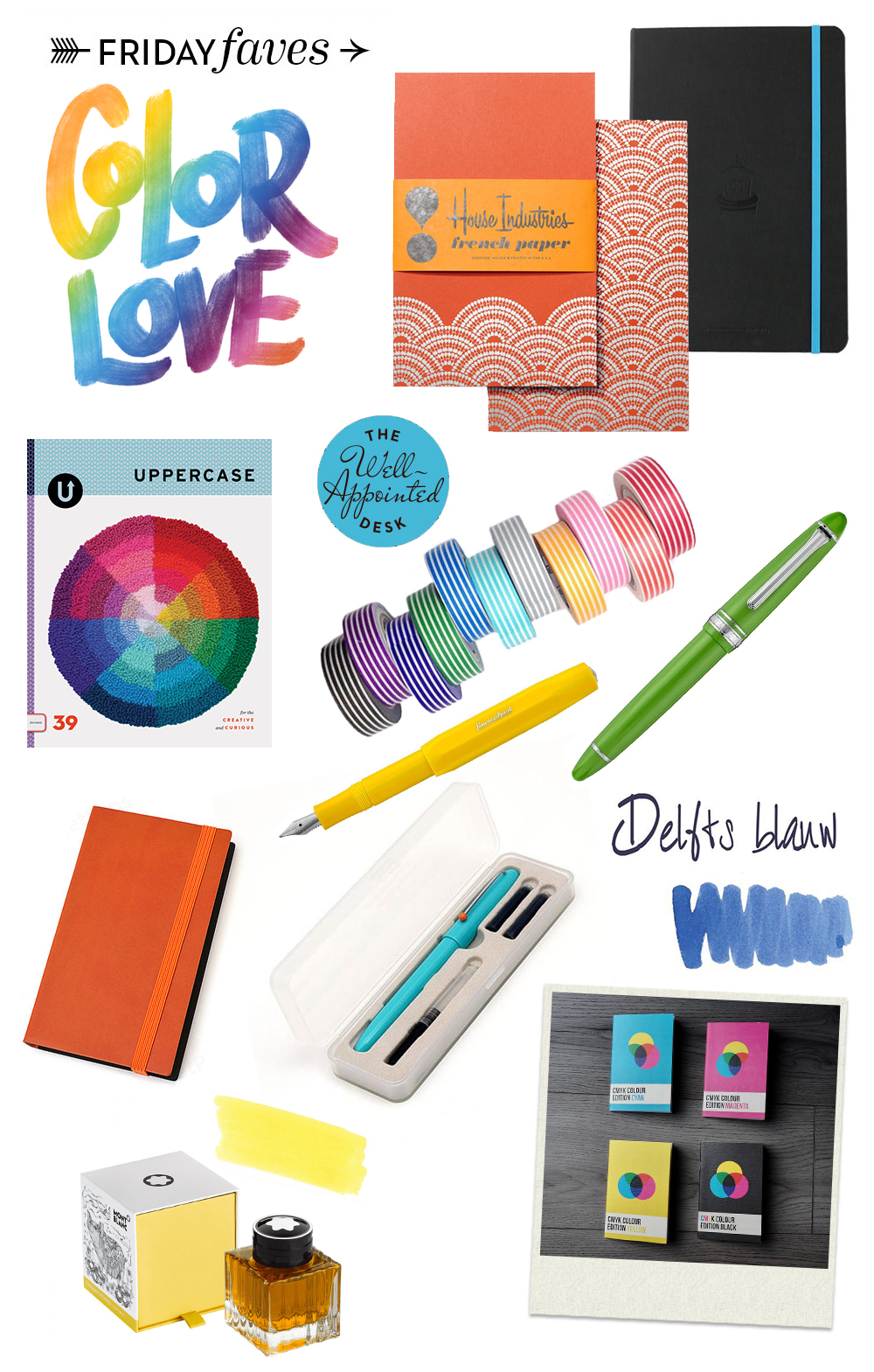 Friday Faves Color Love