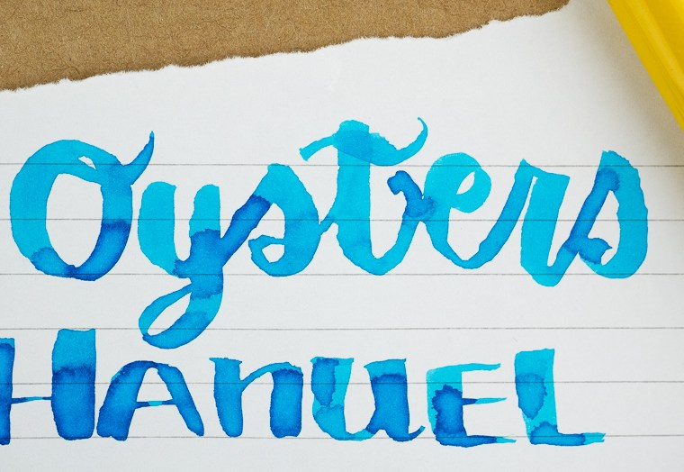 Inkmas Day 9: 3 Oysters Hanuel