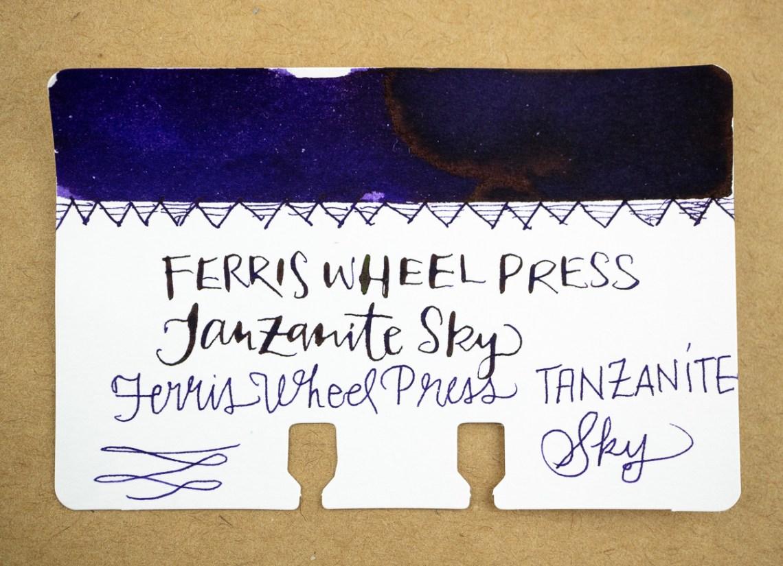 Ferris Wheel Press Tanzanite Sky Col-o-dex