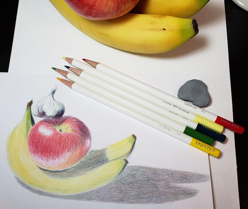 13 - pencils and sketch