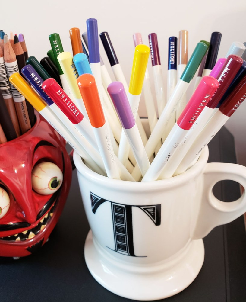 15 - pencils in cup