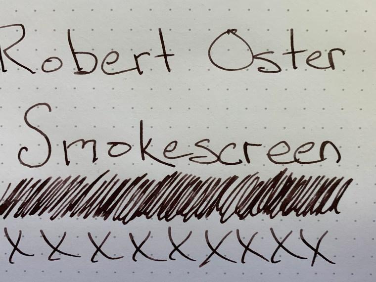 Ink Review: Robert Oster Smokescreen