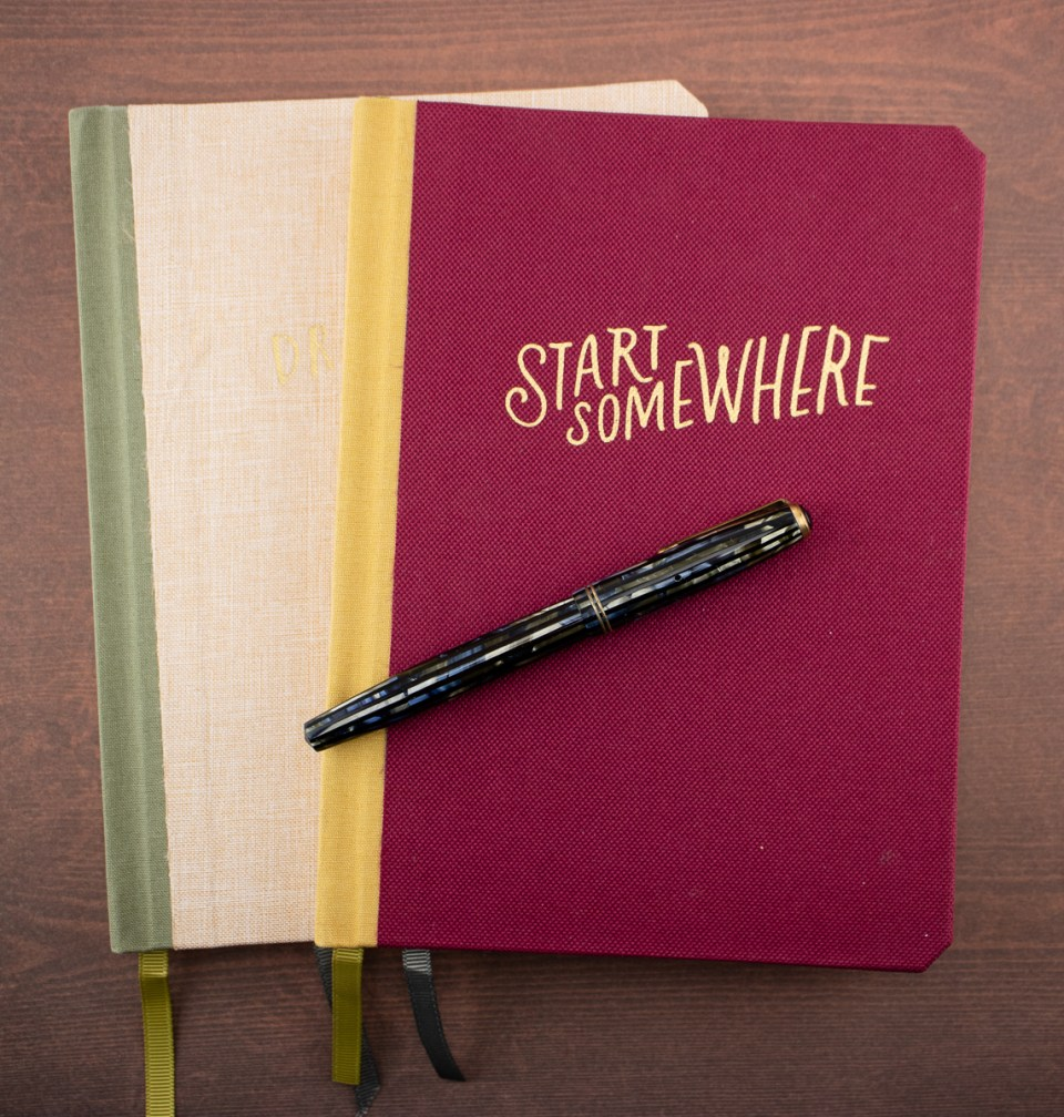 Start Somewhere and Dream Big Floor 9 Notebooks