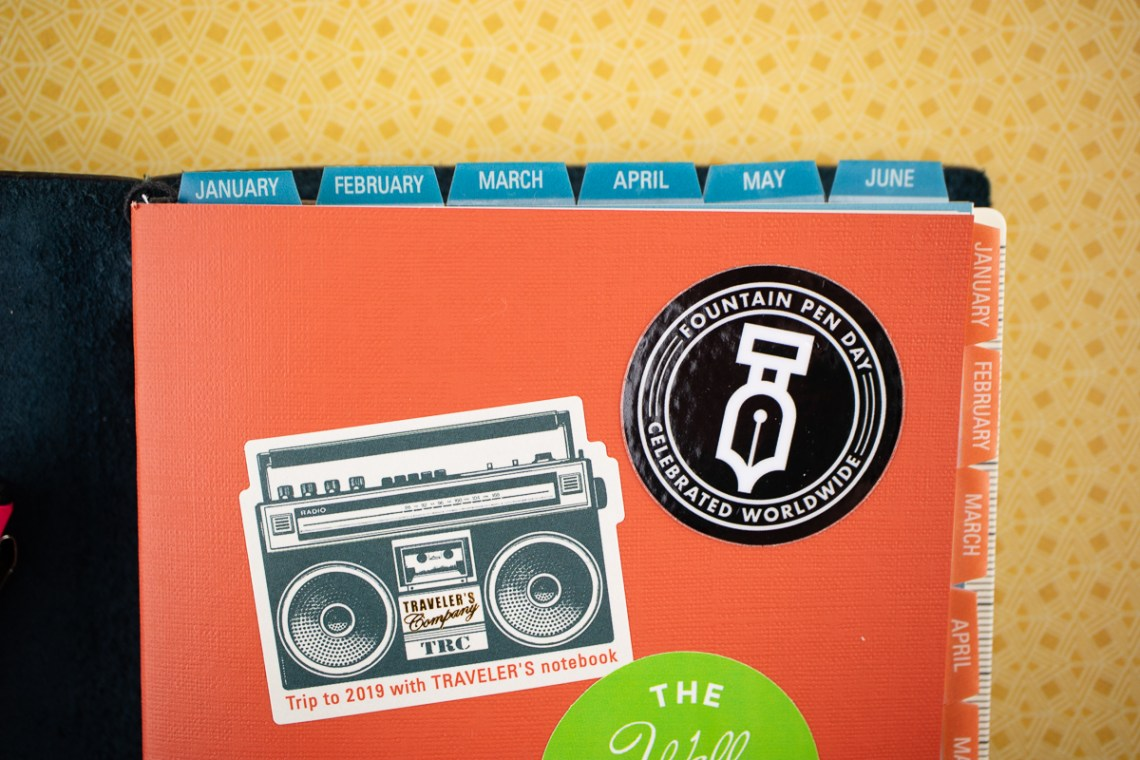 Traveler's Company Planner Stickers