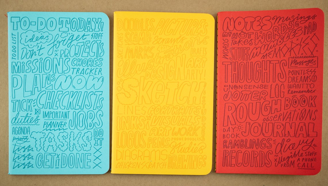 Moo Kate Moross Notebook Set