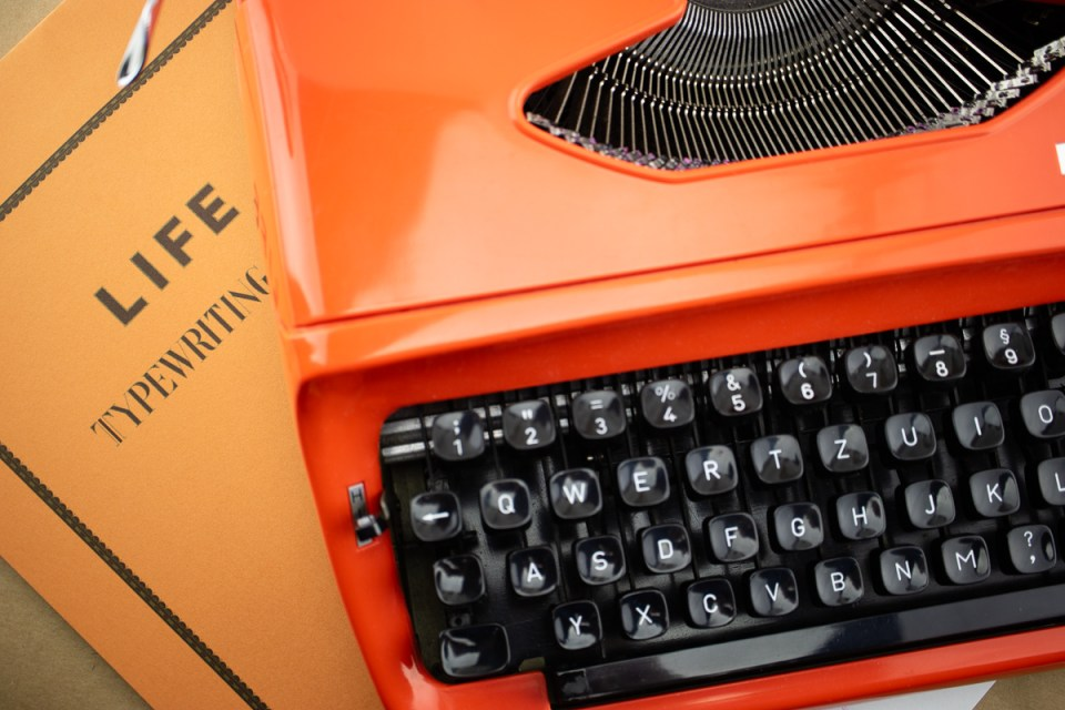 Paper Review: Life Typewriter Paper