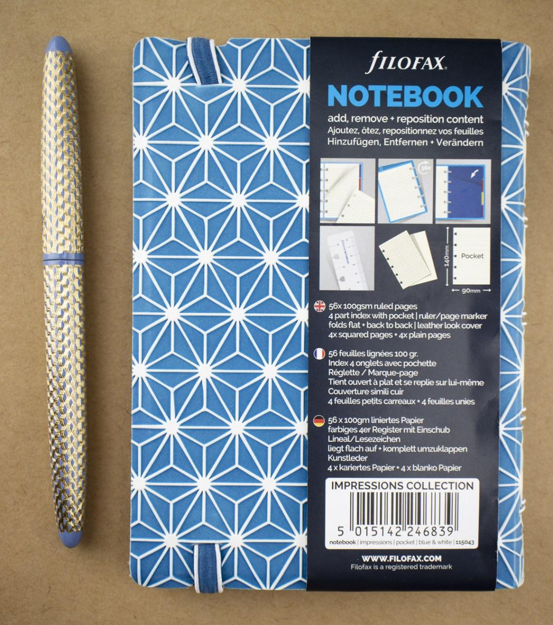 Filofax Impressions Notebook