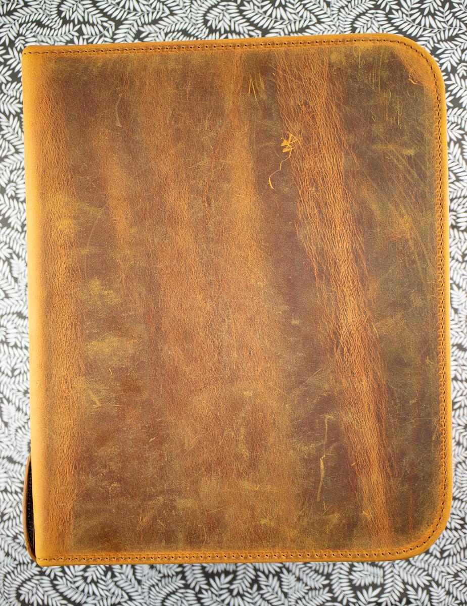 Galen Leather 40-pen case