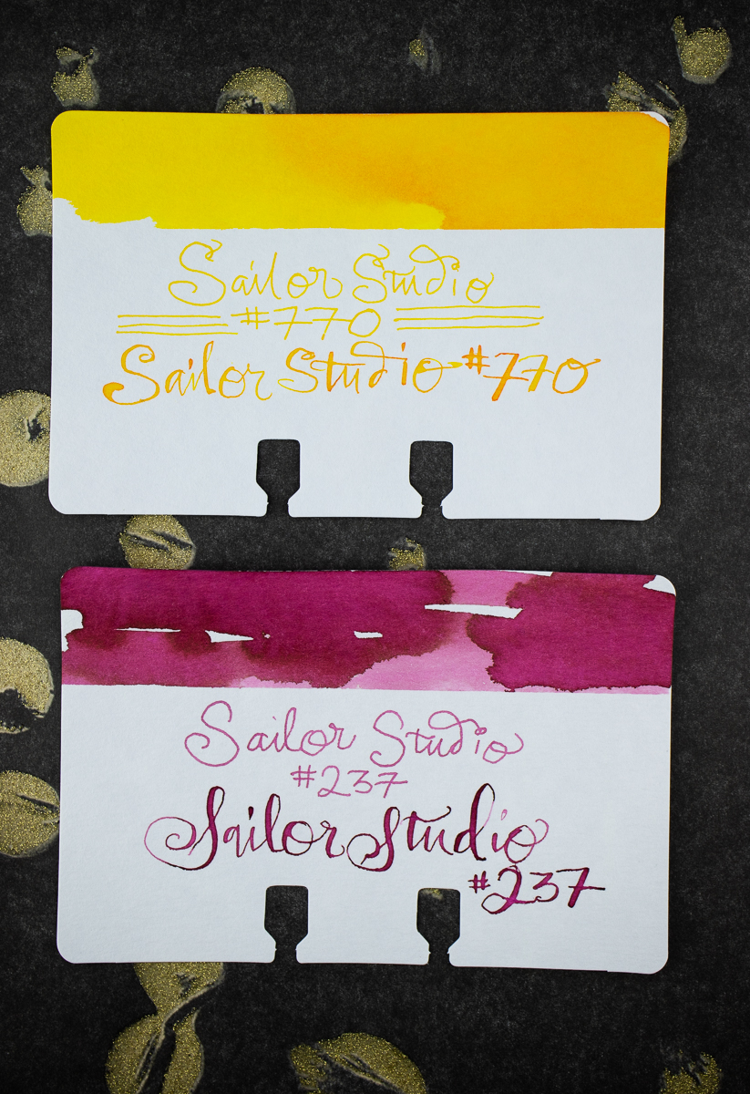 Sailor Studio Col-o-dex Swatches
