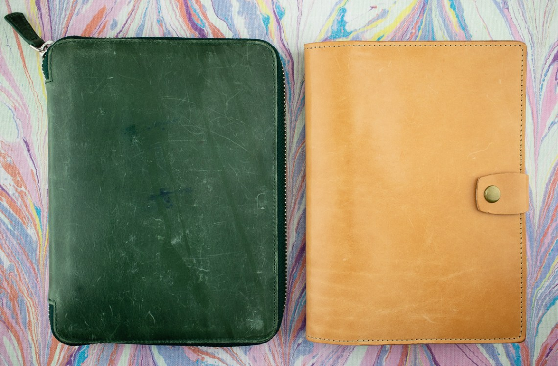 Galen Leather Foilo vs. Coal Creek Bainbridge