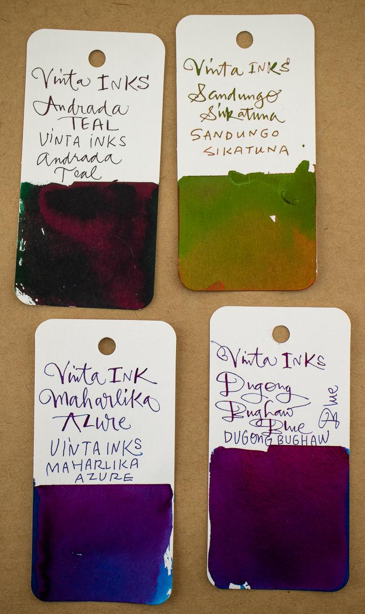 Vinta Sheening Inks