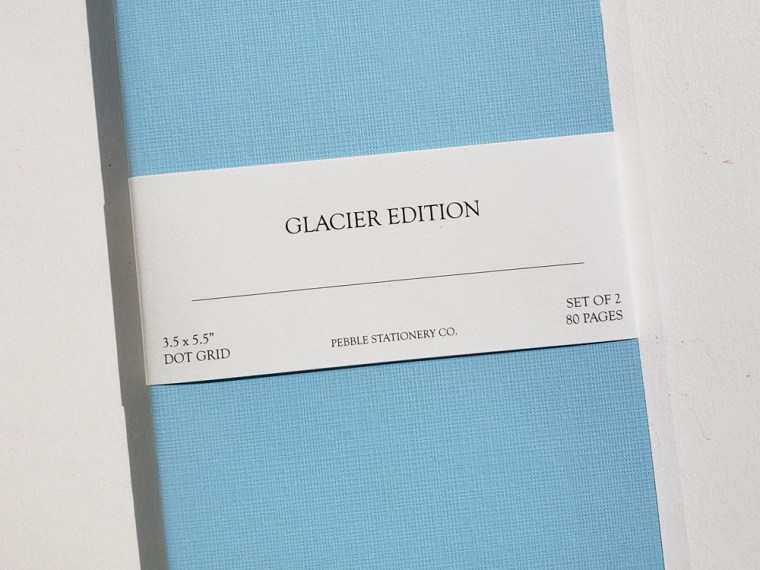 Notebook Review: Pebble Stationery Co. Glacier Edition