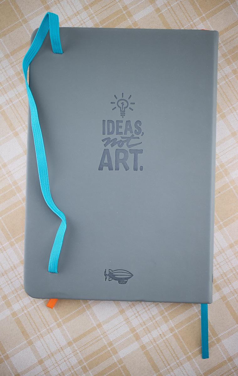 Sketchnote Notebook back cover