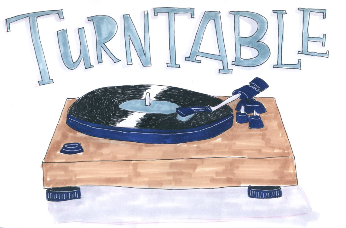 Inktober 2019 - Turntables