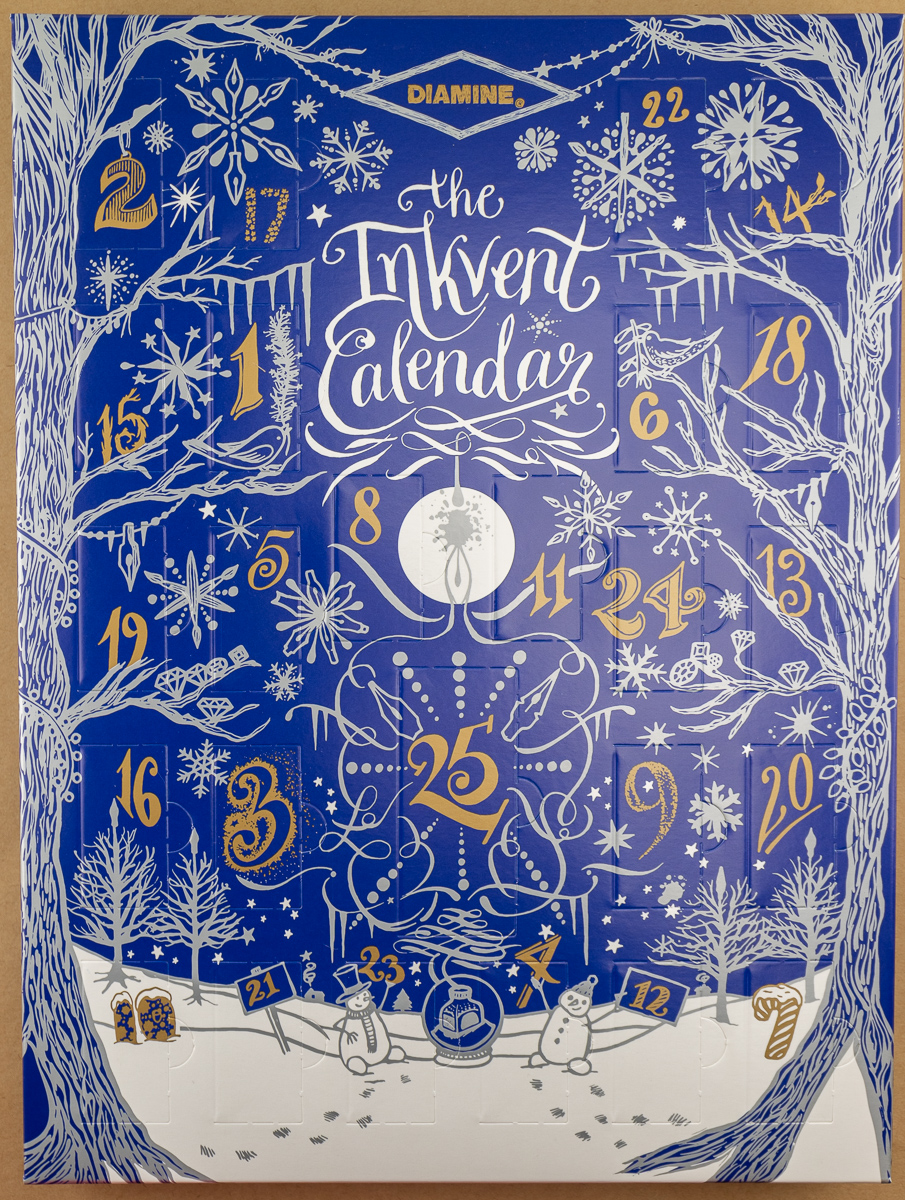 Eye Candy: Diamine Inkvent Calendar (and Giveaway)
