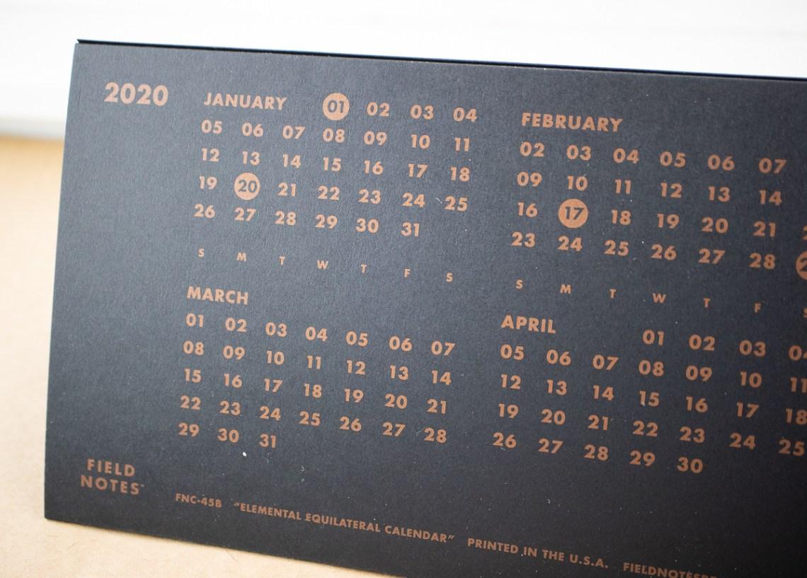 FN Calendar 2020