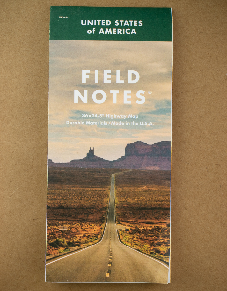 Field Notes Map