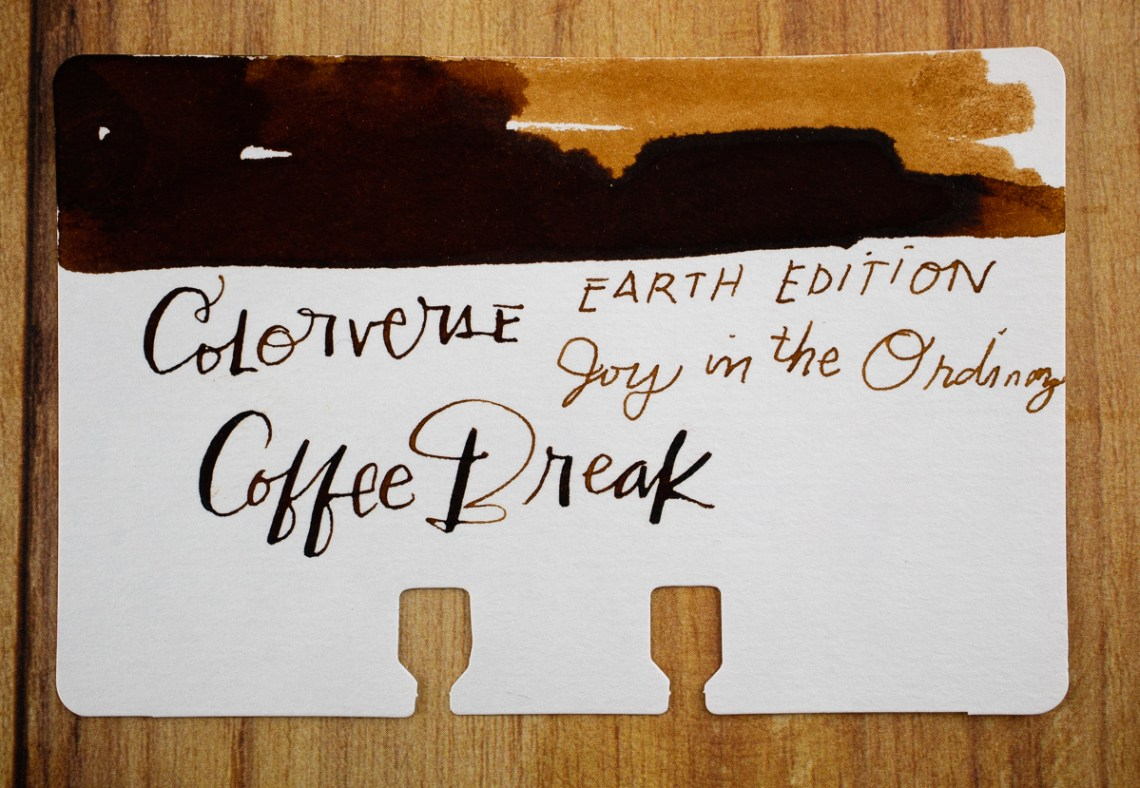 Colorverse Coffee Break swatch
