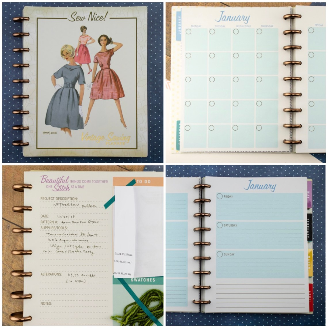 Simplicity Sewing Planner