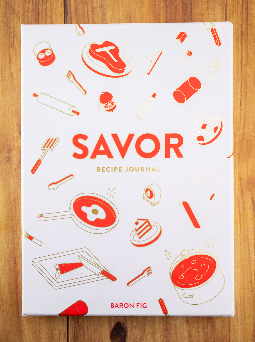 Savor Notebook box