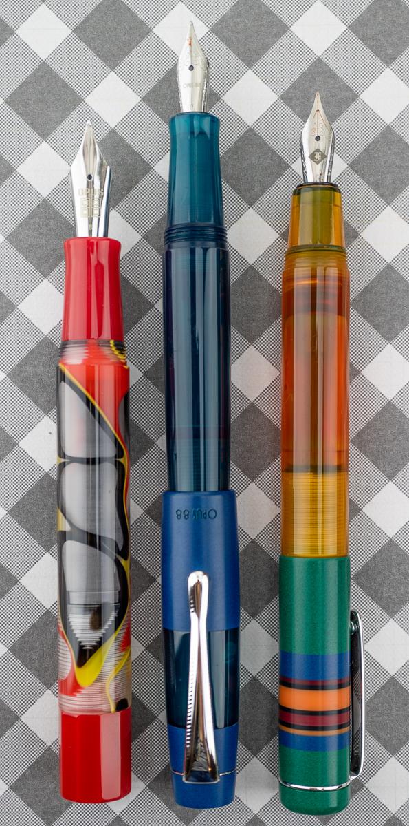 Opus 88 Flow Fountain Pen comparison
