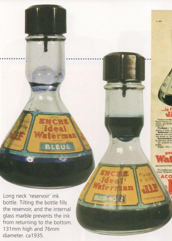 Waterman Vintage ink bottles
