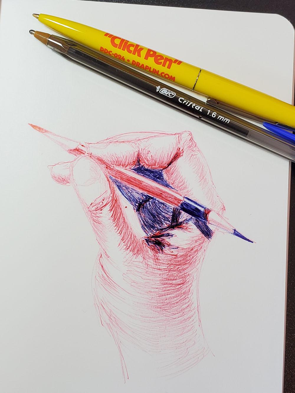 Tina Hand Drawing