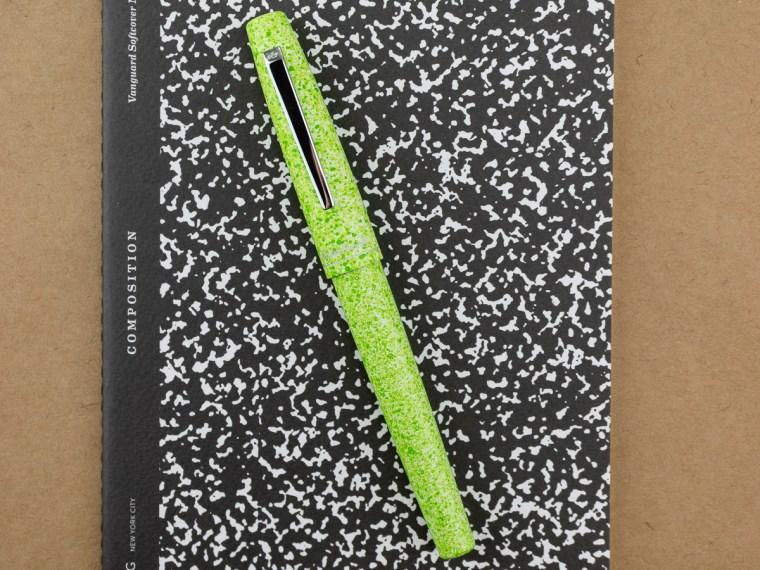 Fountain Pen Review: Esterbrook Camden Composition (Lime)