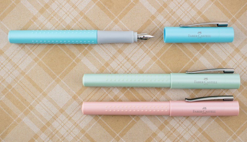 Faber-Castell Grip Pearl Fountain Pens