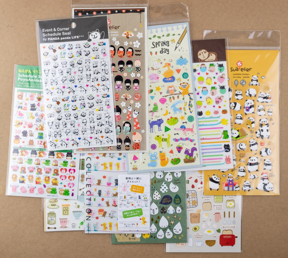 Stickers from JetPens