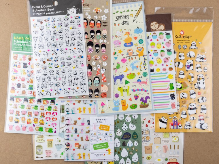 Product Review: Stickers from JetPens