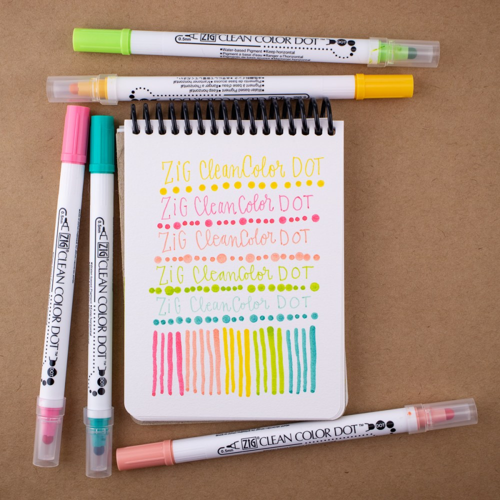 Kuretake Zig CleanColor Dot Double Sided Markers