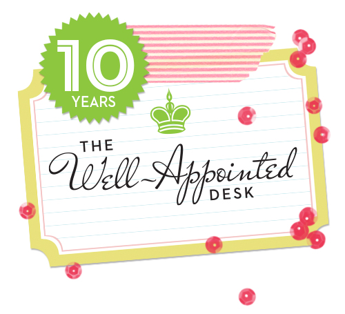 Ten Years of The Well-Appointed Desk