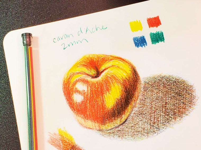Mechanical Pencil Lead Review: Caran d'Ache 2mm Colored Leads