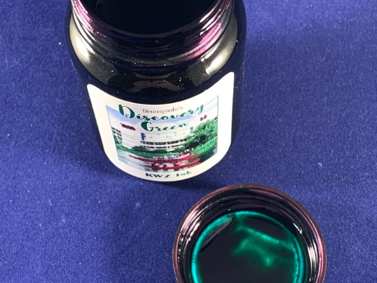 Ink Review: KWZ Discovery Green – Dromgoole's Exclusive