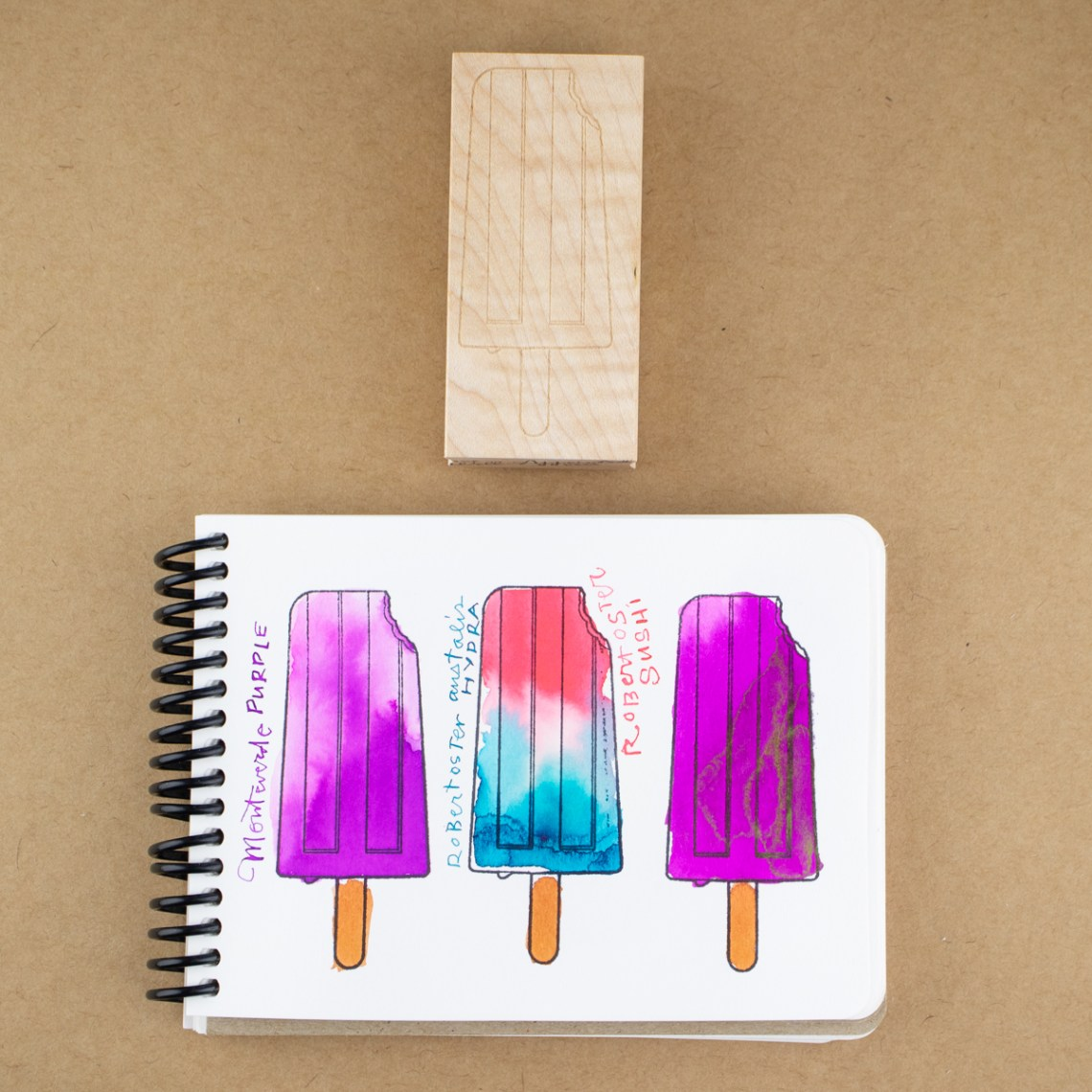 Popsicle stamp