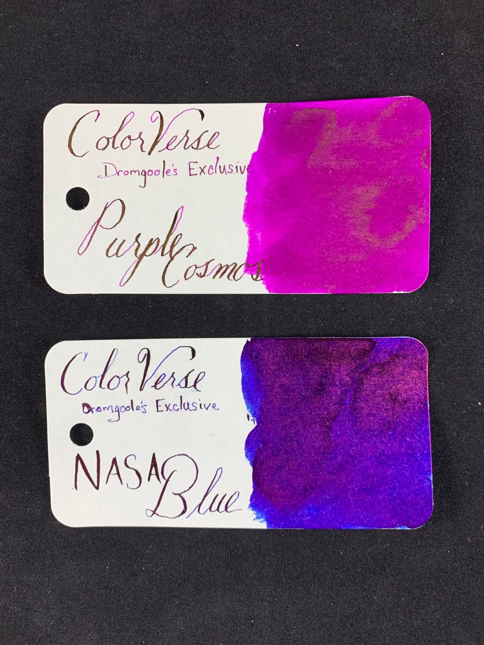Ink Review: ColorVerse Purple Cosmo and NASA Blue