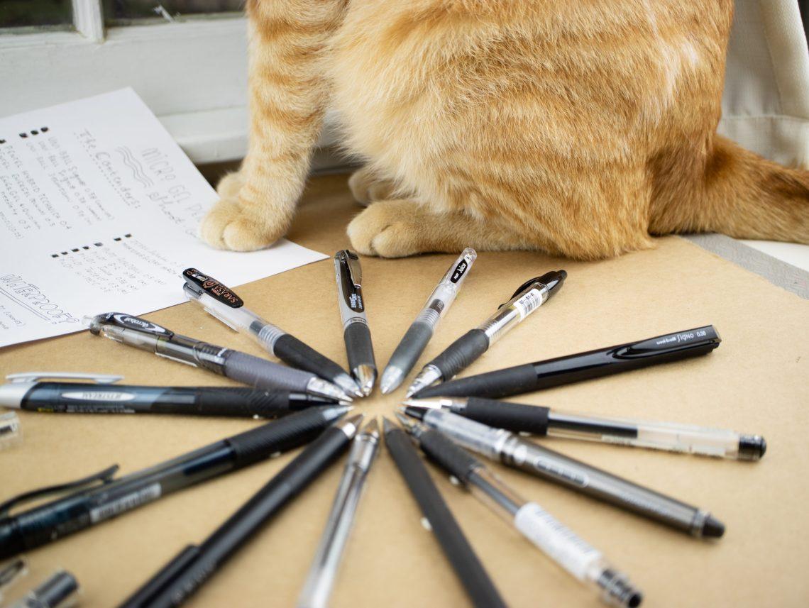 Mirco gel pens